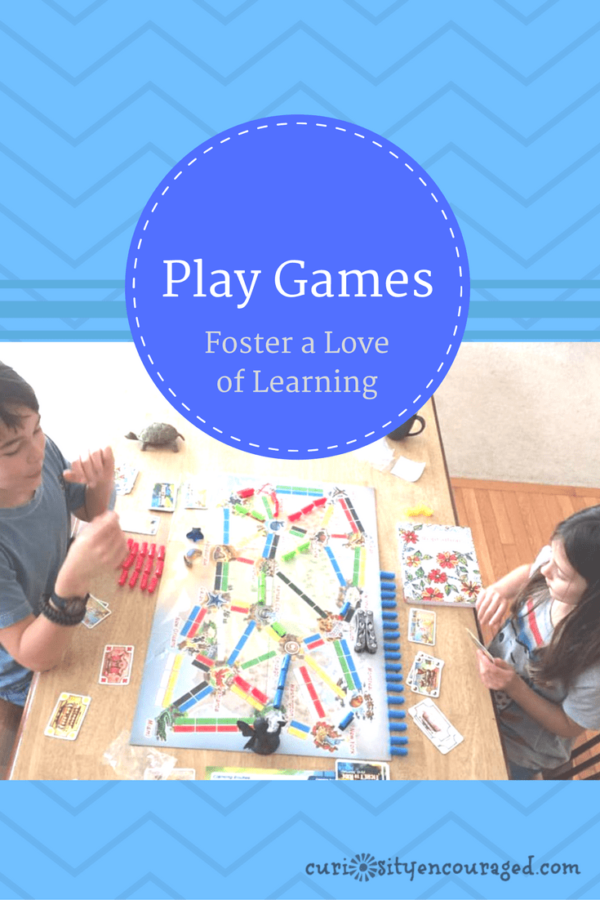 Play games with children and foster a love of learning.