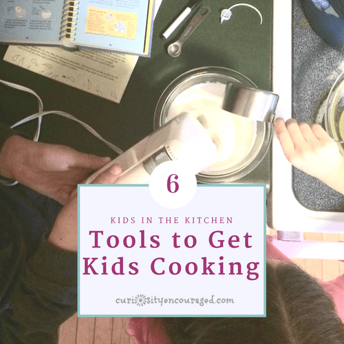 Good cooking tools that get kids learning in the kitchen.