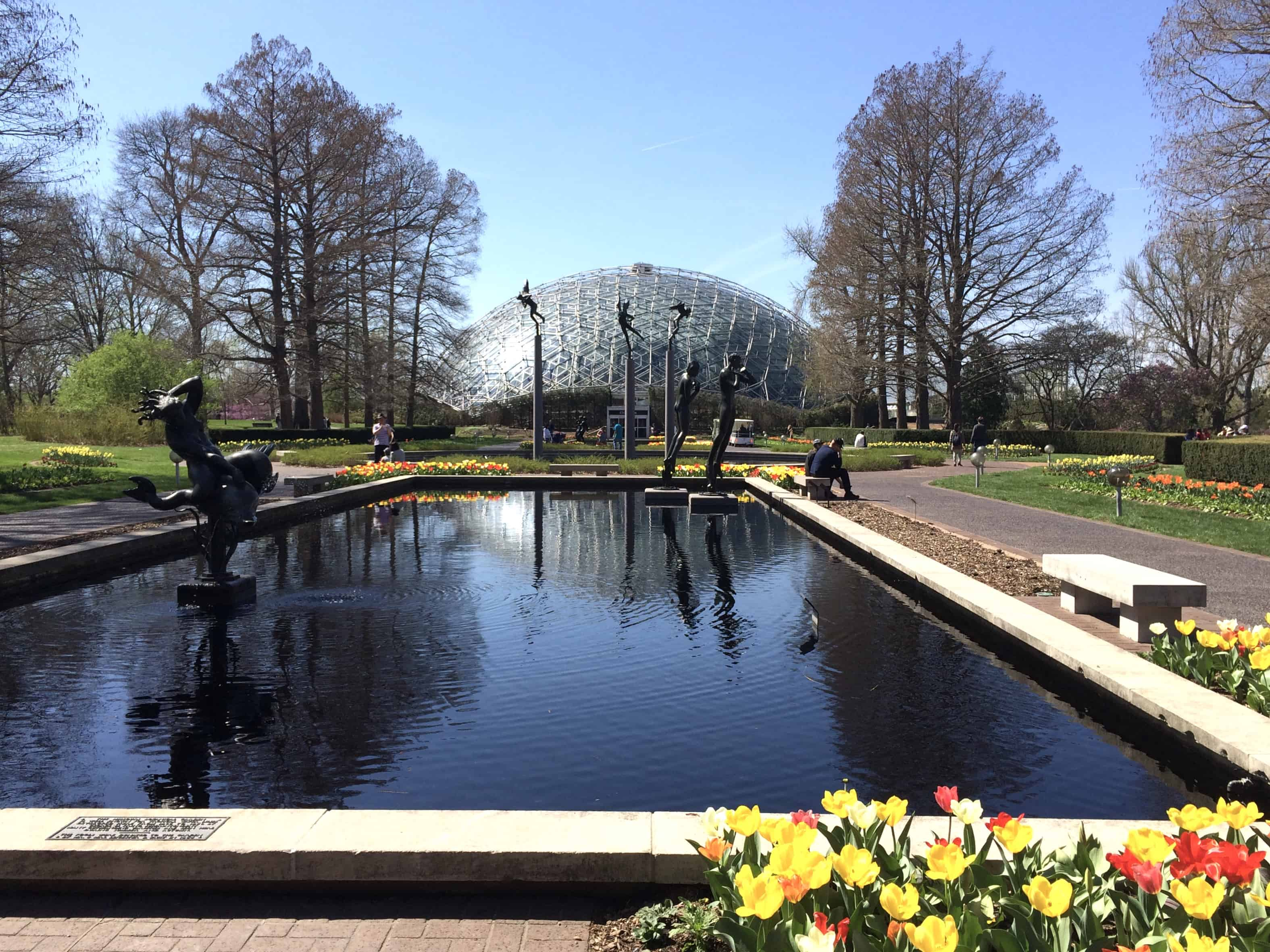 Missouri Botanical Gardens, family fun in Saint Louis