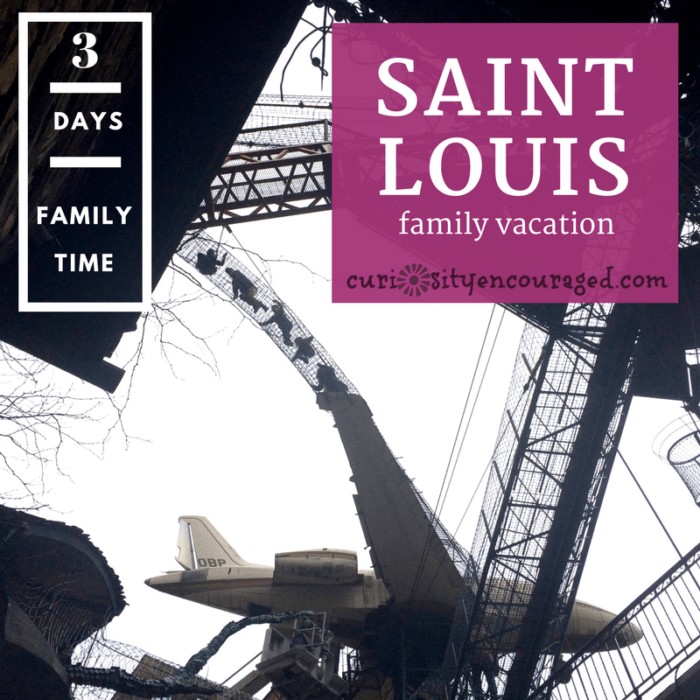 Travel to Saint Louis for your next family vacation!