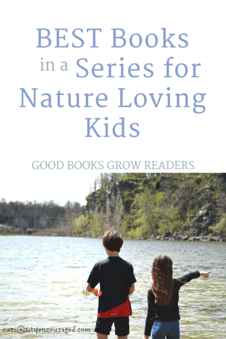 Nature lovers will dive into these outdoor adventures! These books not only inspire a love of the Earth and animals, they inspire a love of reading.