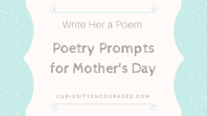 Poetry Prompts for Mother's Day