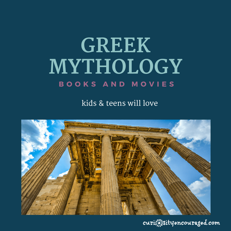 Greek Mythology- Books and Movies Your Kids Will Love