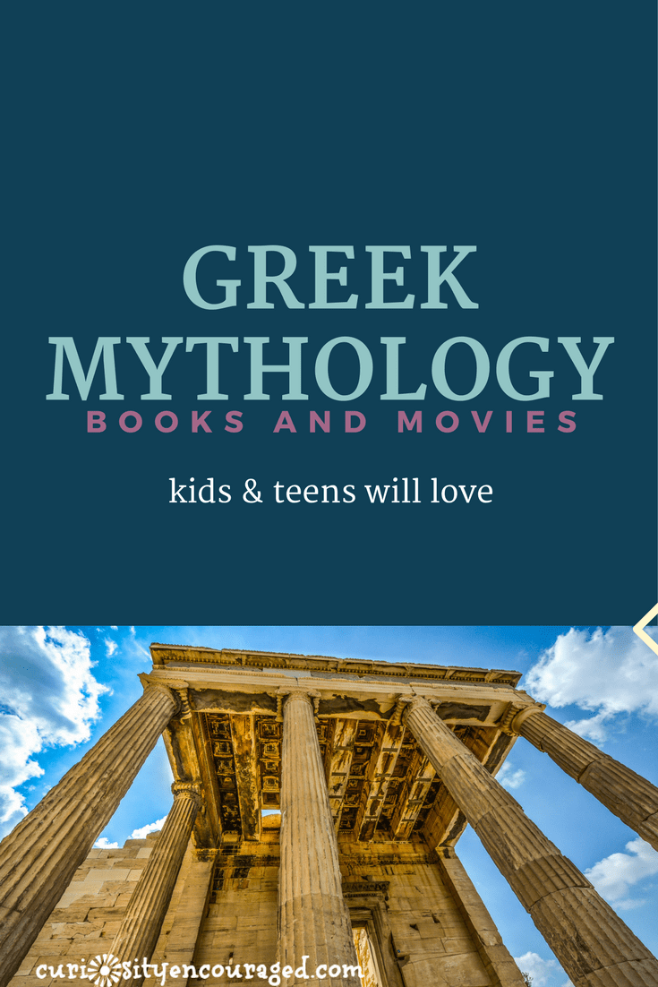 Greek Mythology- Books and Movies Your Kids Will Love -