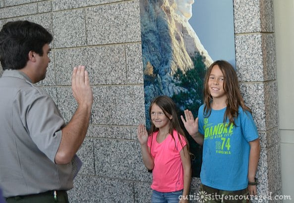 Explore National Parks with the Junior Ranger Program, Mt Rushmore SD