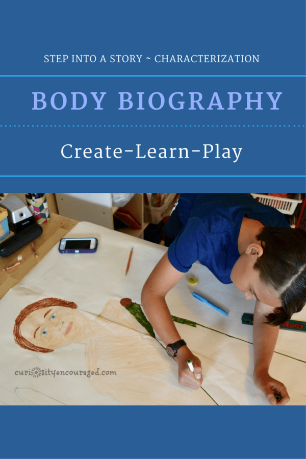 Create a Body Biography, Play with Characterization