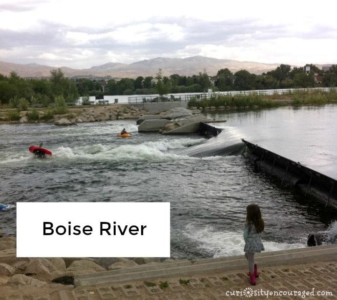Boise River, family travel in Southwest Idaho