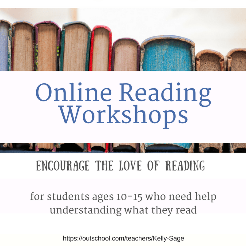 Online Reading Workshops- help kids understand what they read
